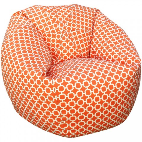 Havana Bean Bag Indoor Outdoor Orange