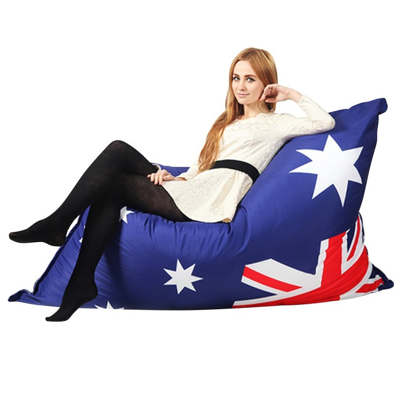 Australian Flag Rectangle Bean Bag