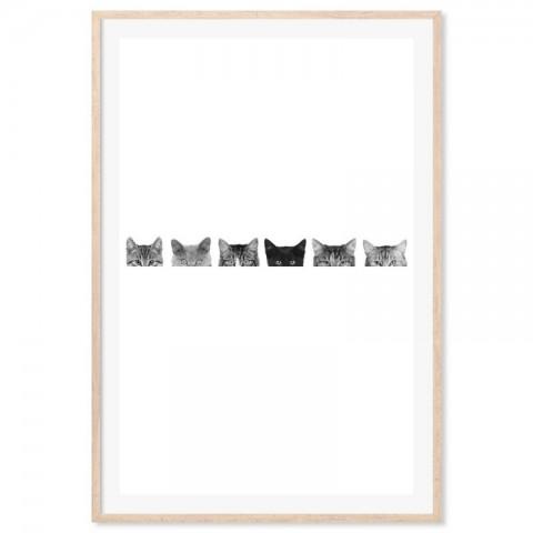 Peeping Toms Art Print