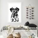 Superhero Dalmatian Art Print