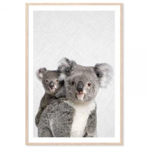 Hello Koalas Art Print