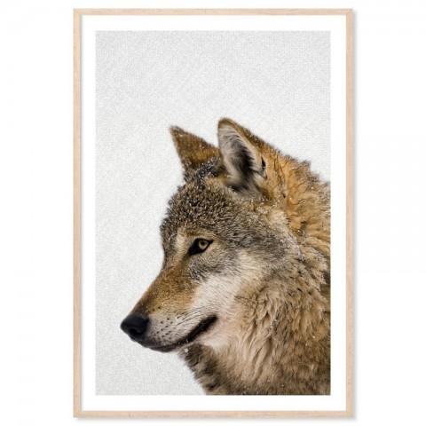 Hello Wolf Art Print