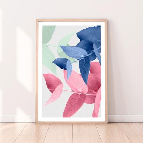 Eucalyptus Leaves Colour Download Print