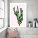 Saguaro Cactus Pink Download Print