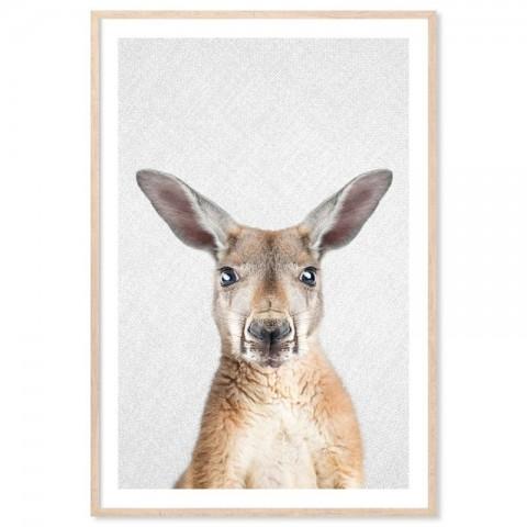 Hello Kangaroo Art Print