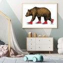 Bear Patrol Art Print