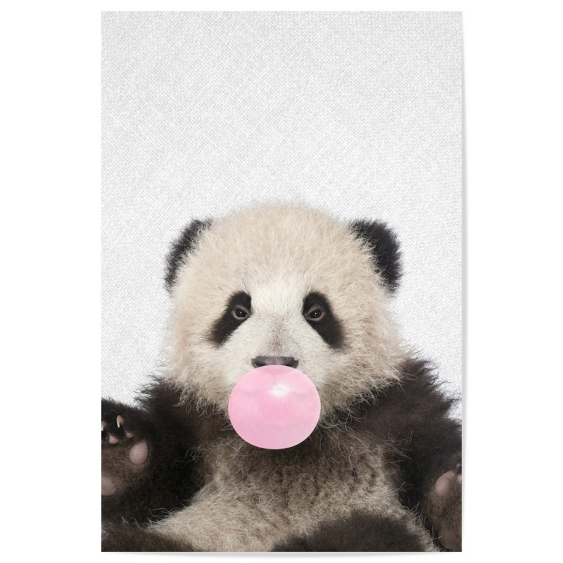 Bubblegum Panda Art Print