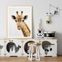 Hello Giraffe Art Print