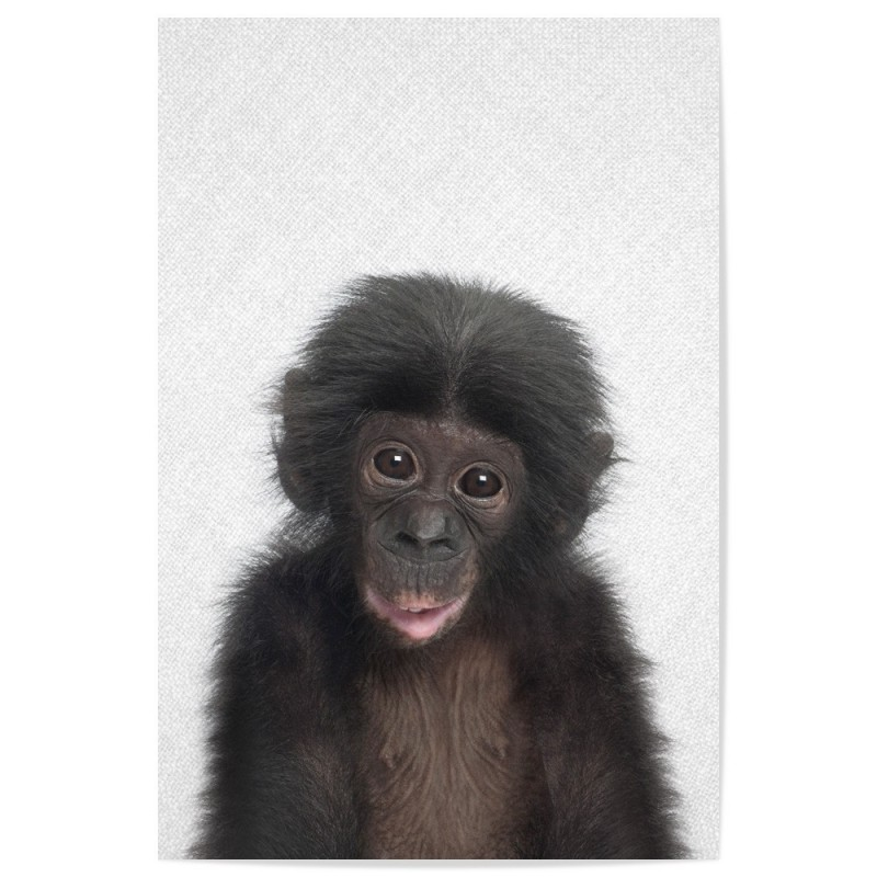 Hello Bonobo Art Print