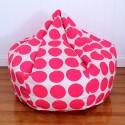 Dots Bean Bag Fluro Pink