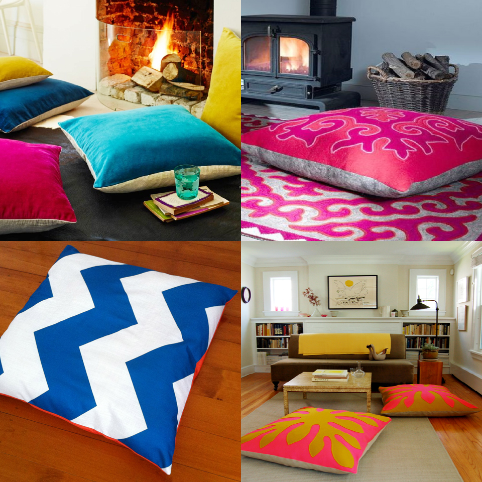 Add Style and Colour With Floor Cushions